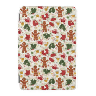 Holiday Gingerbread Pattern iPad Mini Cover