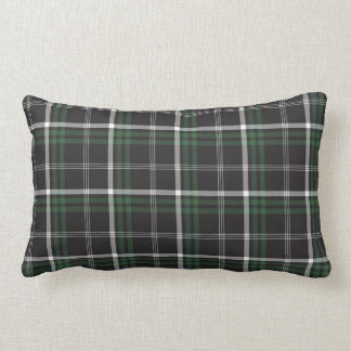 Holiday Green Plaid Pillow
