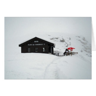 Holiday Greeting Card - Cheers from the Alps