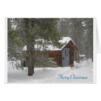 Holiday Greeting Card/Christmas;Winter Scene Card
