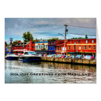 Holiday Greeting Card from Maryland