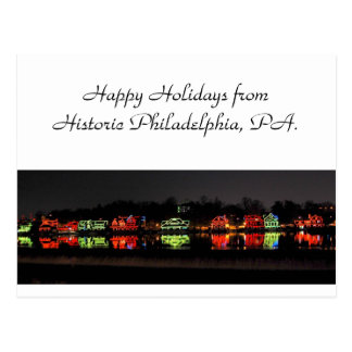 Holiday Greeting Card from Philadelphia