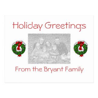 Holiday Greeting Card Post Card