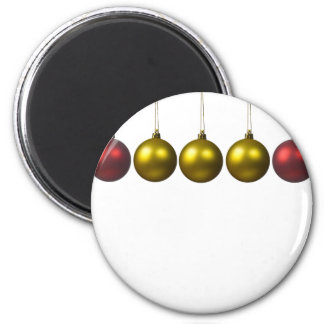 holiday greetings 6 cm round magnet