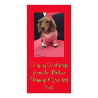 Holiday Greetings Bill's Fave Photo Card Template