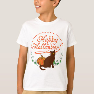 Holiday greetings from black cat T-Shirt