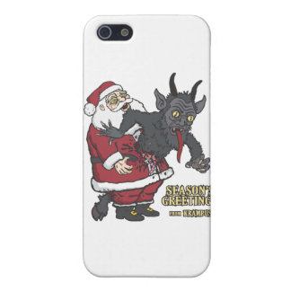 Holiday Greetings from Krampus (and Santa) Case For The iPhone 5