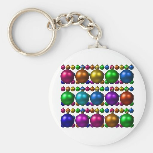 holiday greetings key chain