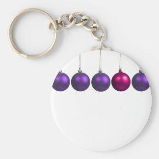 holiday greetings key chain