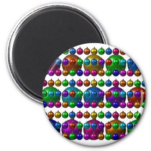 holiday greetings fridge magnets