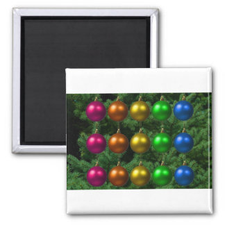 holiday greetings refrigerator magnets