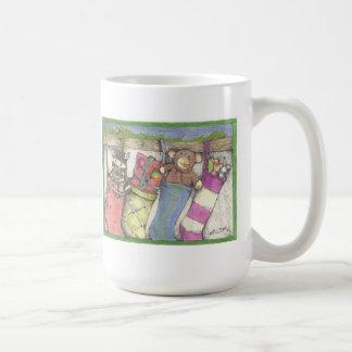 holiday  greetings mug