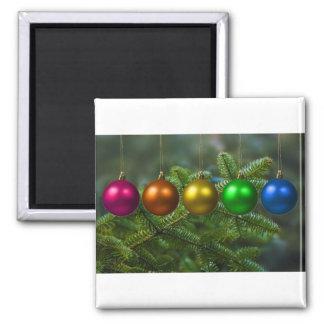 holiday greetings refrigerator magnets