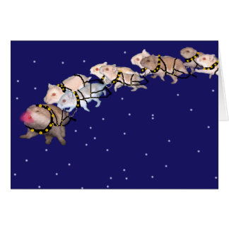 Holiday Hamsters Card