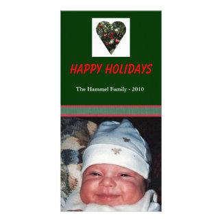 Holiday Heart Photo Card