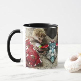 Holiday Hedgehog Mug