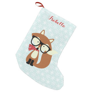 Holiday Hipster Brown Fox