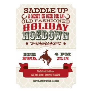 holiday_hoedown_christmas_party_invitation r96d56ed2ab0b41d98714704e1d1343bb_zk9l8_324?rlvnet=1 hoedown invitations & announcements zazzle com au,Hoedown Party Invitations