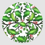 Holiday Holly Berries Sticker