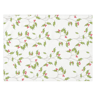Holiday Holly Tablecloth