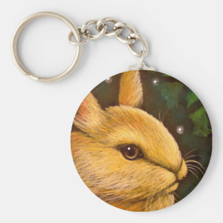 HOLIDAY HONEY BUNNY RABBIT - MISTLETOE ZAZ KEY RING