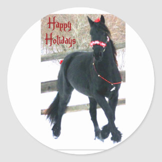 Holiday Horse Envelope Seals