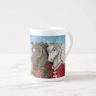 Holiday Horses~mug Tea Cup