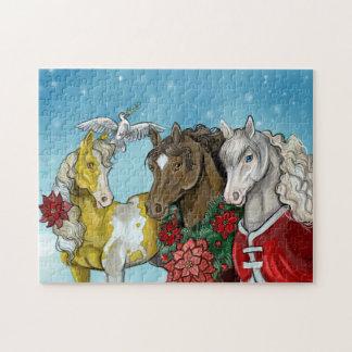 Holiday Horses~puzzle! Jigsaw Puzzle