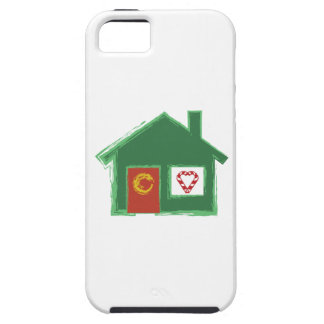 Holiday House iPhone 5 Cases