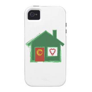 Holiday House Vibe iPhone 4 Covers
