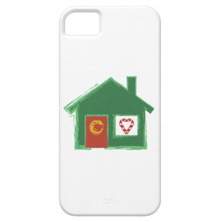 Holiday House iPhone 5/5S Case