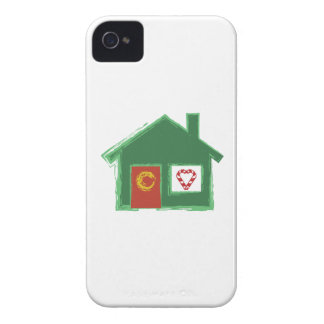 Holiday House iPhone 4 Covers