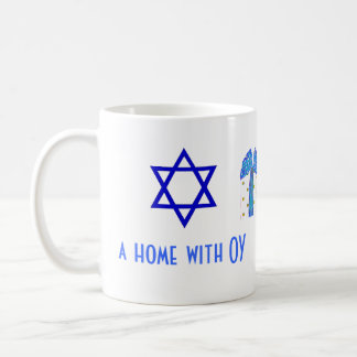Holiday Humor Christmas and Hanukkah Coffee Mug