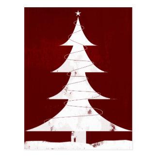 Holiday Icon - Vintage Christmas Tree Postcard