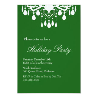 Holiday Invitation Grand Ballroom (green)