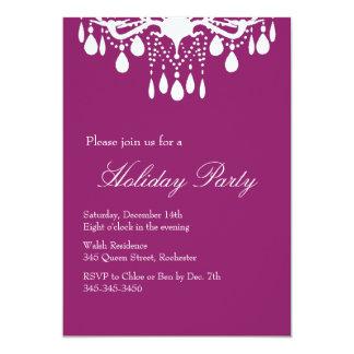 Holiday Invitation Grand Ballroom (red)