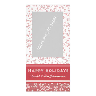 Holiday Joy card Picture Card