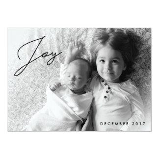 Holiday Joy - Family Christmas Photo Card