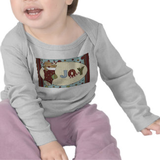 Holiday Joy Gingerbread Cookie Stocking Candy Cane Shirt