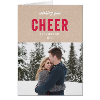 Holiday Kraft Card