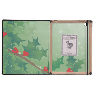 Holiday Leaves iPad Covers