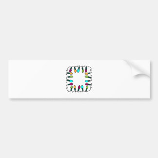 Holiday Lights Bumper Stickers