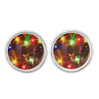 Holiday Lights cufflinks