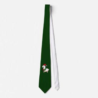 Holiday Llama Elf Tie