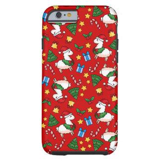 Holiday Llama Madness Tough iPhone 6 Case