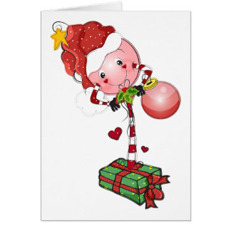 Holiday Lolly Card