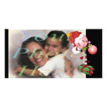 Holiday Lolly Photo Card