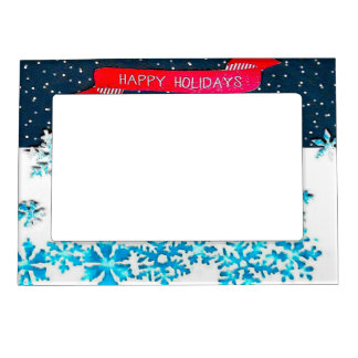 Holiday Magnetic Photo Frame