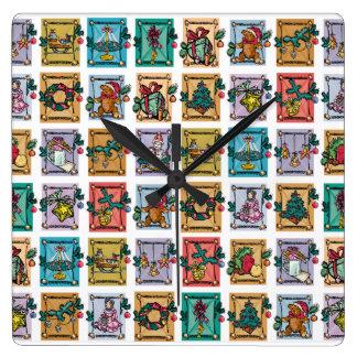 Holiday Memories Wall Clock