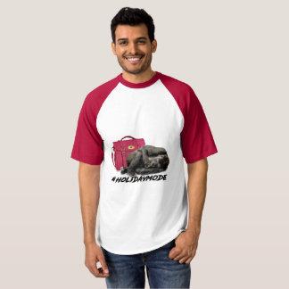 Holiday Mode Baseball T-shirt